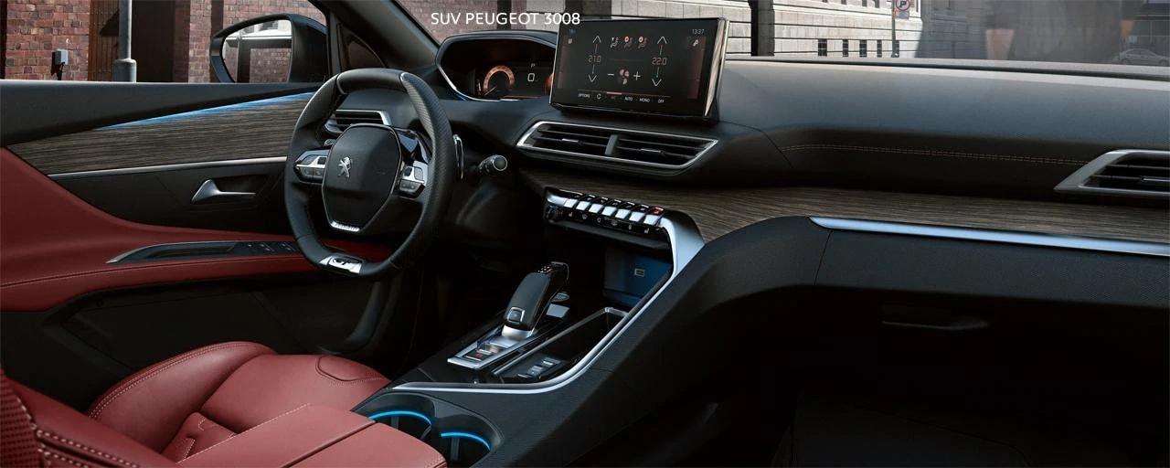 Peugeot 3008 Interier 2021