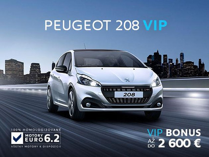 Peugeot 208 Cena