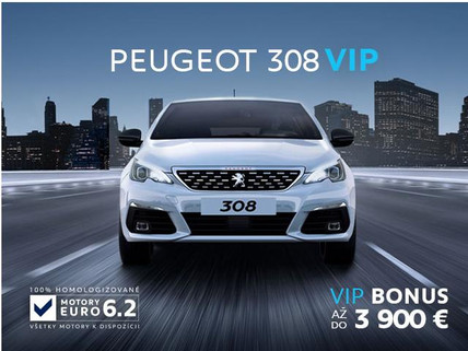 Peugeot 308 Akcia