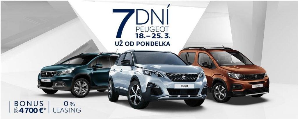 Peugeot 7 Dni Banner