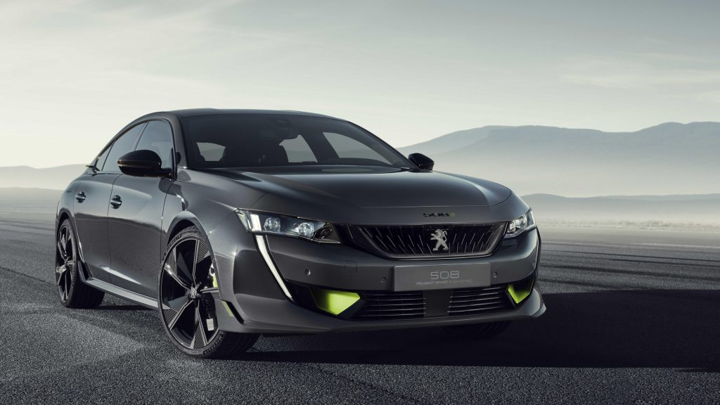 Peugeot 508 Peugeot Sport Engineered Concept 100692499