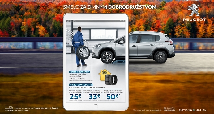 Peugeot Pneuservis Zima