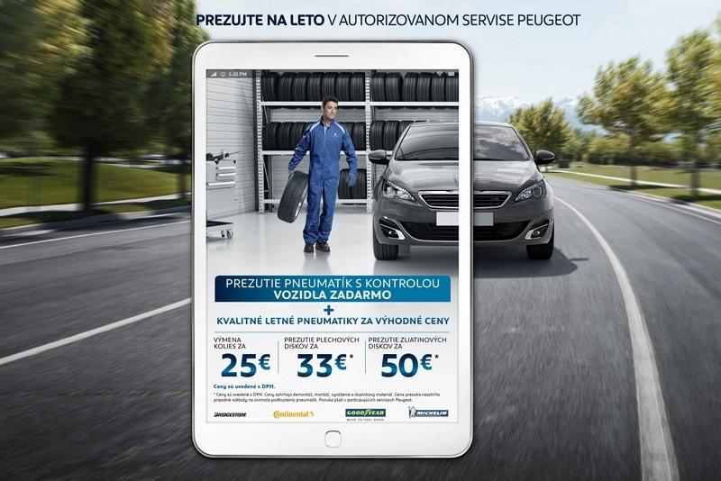 Peugeot Pneuservis A