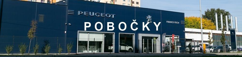 Peugeot Predajne