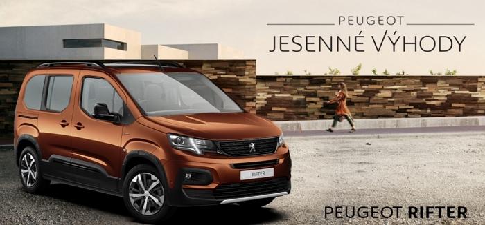 Peugeot Rifter Cena