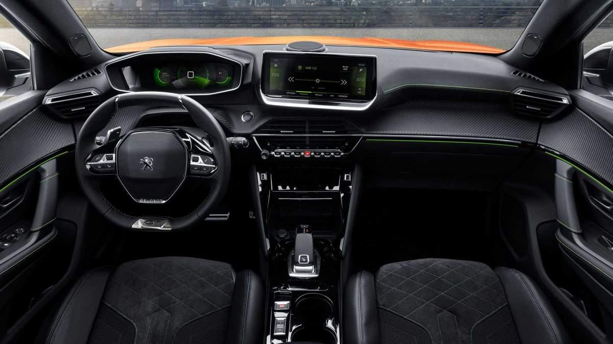 Interiér Peugeotu 2008