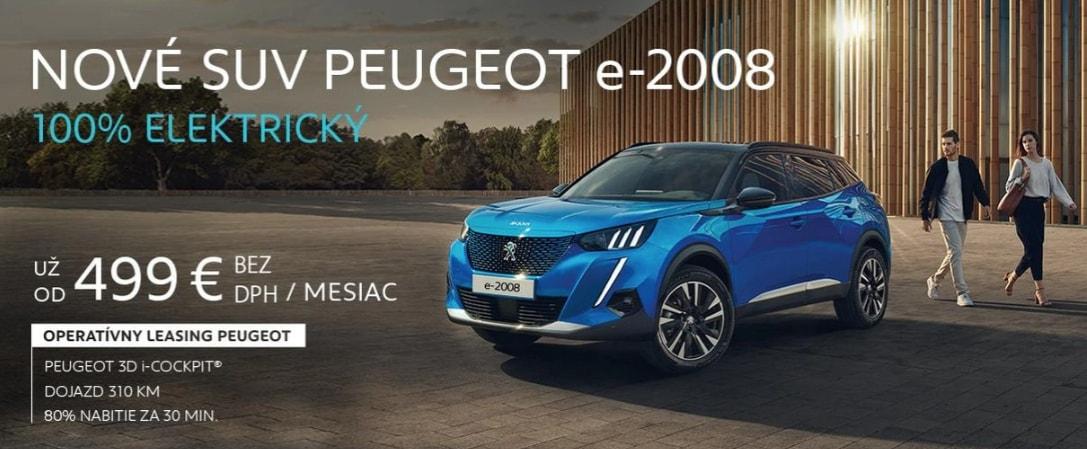 Peugeot E 2008 Cena