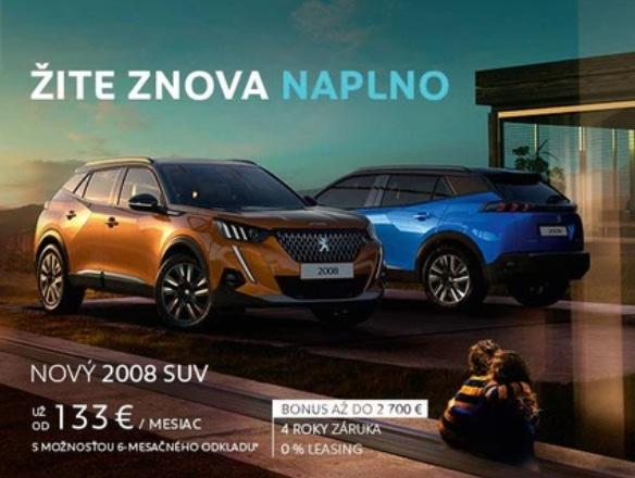 Peugeot 2008 Cena 2020