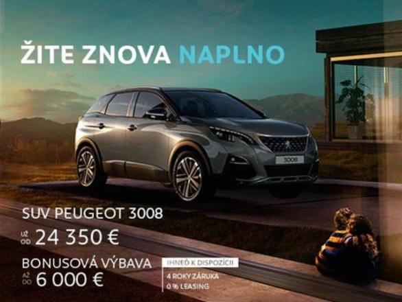 Peugeot 3008 Cena 2020