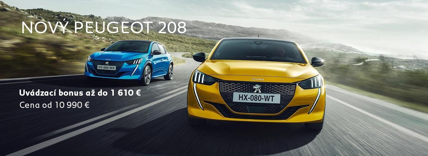 Novy Peugeot 208 2019 Cena A