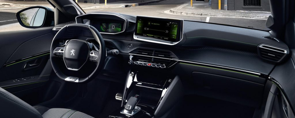 Novy Peugeot 208 Interier