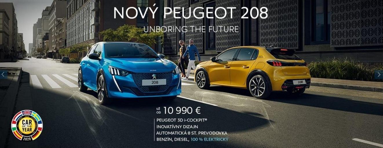 Peugeot 208 Cena ZLAVA