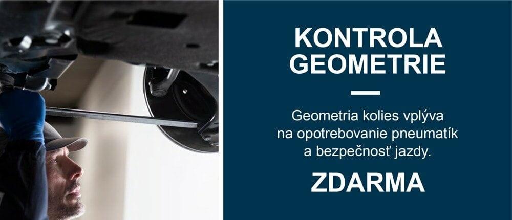 kontrola geometrie