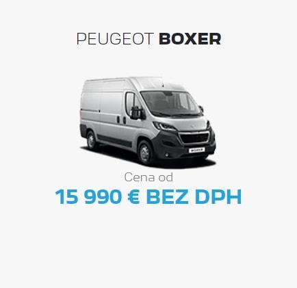 Peugeot Boxer Ponuka Apr