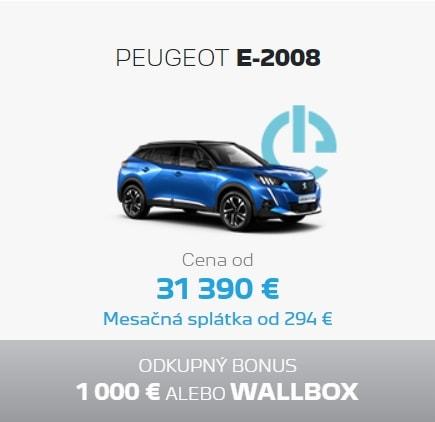 Peugeot E 2008 Ponuka Apr