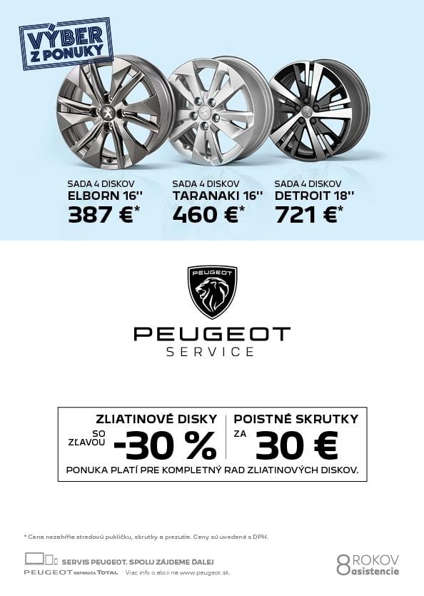 Disky Pneuservis Peugeot 2