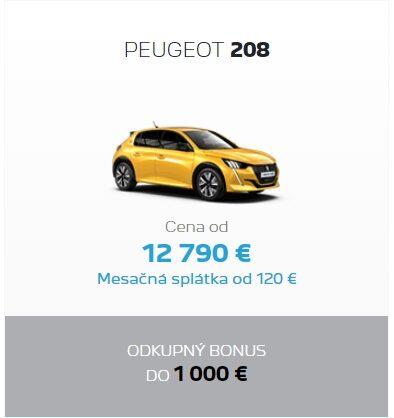 Peugeot 208 Odkupny Bonus 2