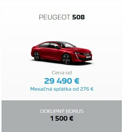 Peugeot 508 Odkupny Bonus 2
