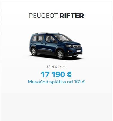 Peugeot Rifter Odkupny Bonus 2
