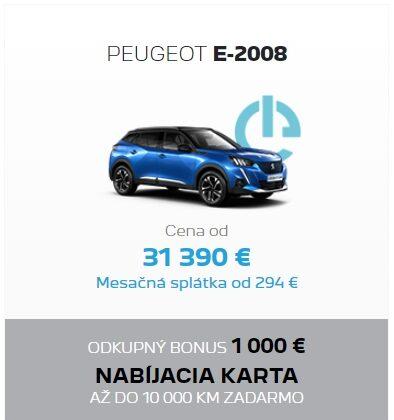 Peugeot E2008 Odkupny Bonus 2
