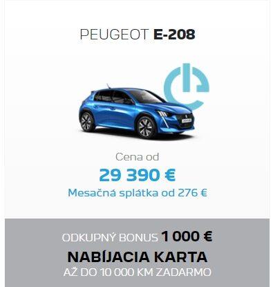 Peugeot E208 Odkupny Bonus 2