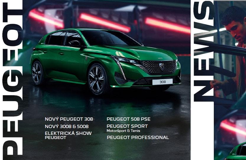 Peugeot novinky